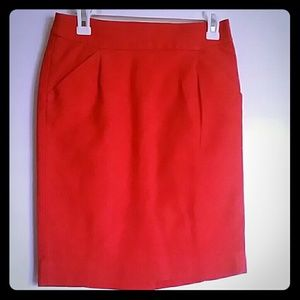 J.Crew pencil skirt size 2